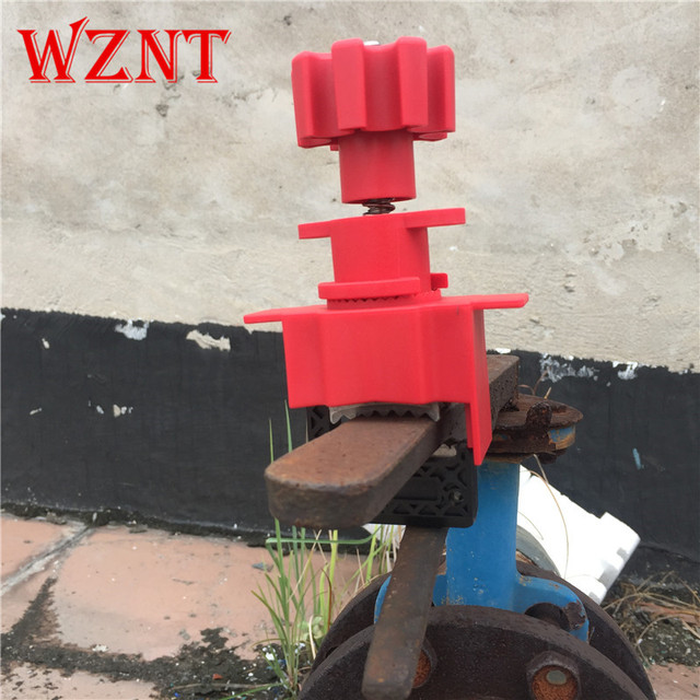 NT-U04 Multifunctional industrial safety lock valve To prevent misoperation Valve lock management Universal Valve lockout