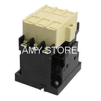 CJ20-40 3 Poles 3 Phase 2NO 2NC 40 Amp 220V Motor Control AC Contactor хилари хан hilary hahn in 27 pieces the hilary hahn encores 2 lp