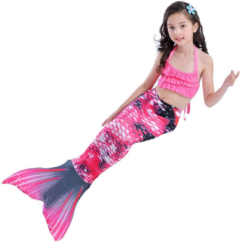 girls mermaidl tail rose 6