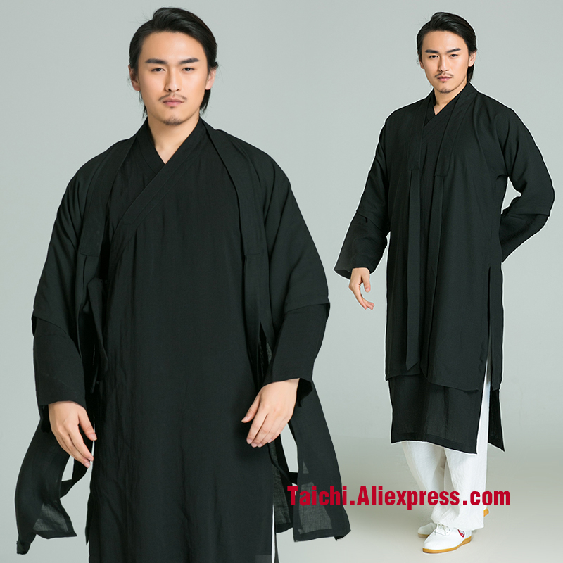 Male And Femail Handmade Linen Tai Chi Uniform,Flax Kung Fu,martial Art Suit,three Pieces Top+pants+Veil,black,white,red,purple man and women handmade linen tai chi uniform kung fu martial art suit taoist priest robe three piece jacket pants veil