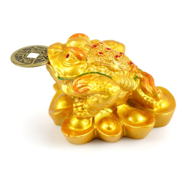 Kiwarm Feng Shui Money Lucky Fortune Wealth Chinese For Frog Toad