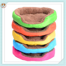 Round Candy Color Winter Soft Cheap Warm Pet Products Dog Bed Mat