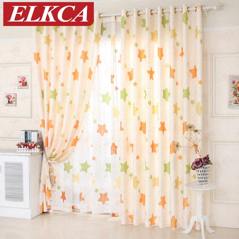 Living Room Curtains Cheap : Aliexpress.com : Buy Star Window Curtains for Living Room ...