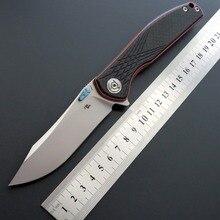 CH CH3516 S35VN лезвие из титанового сплава+ ручка из углеродного волокна складной нож для выживания на открытом воздухе тактический инструмент для кемпинга карманный нож для повседневного использования