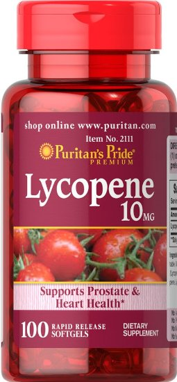 Free shipping Lycopene 10 mg-100 pcs lycopene 40 mg supports prostate