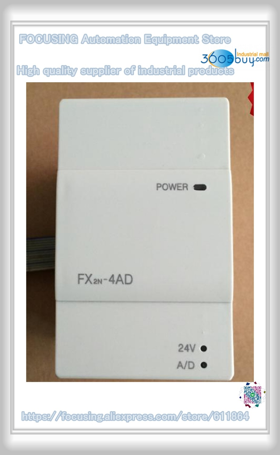 FX2N-4AD PLC new in stock цена