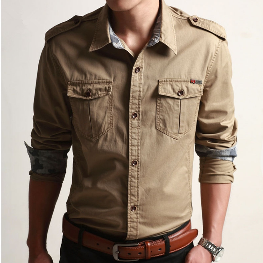 Popular Mens Cargo Shirts-Buy Cheap Mens Cargo Shirts lots ...