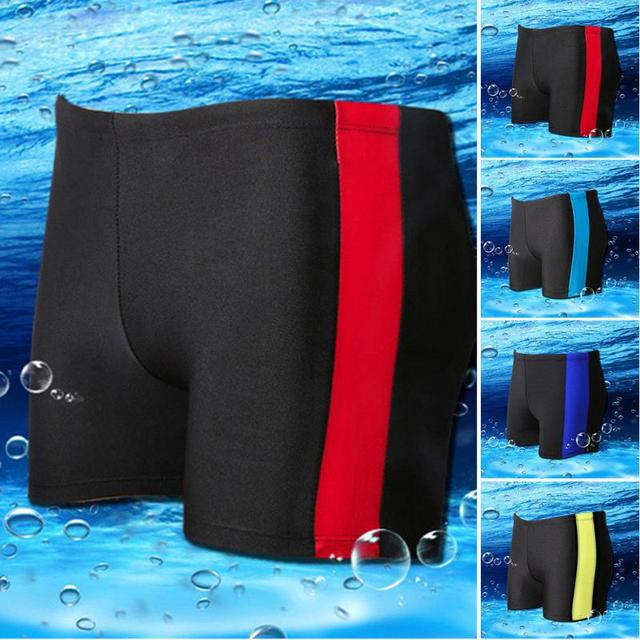 2018 New Summer Men Teenagers Swimming Underwear Hot Spring Beach Breathable Boxers Pants Shorts Underpants Underwear