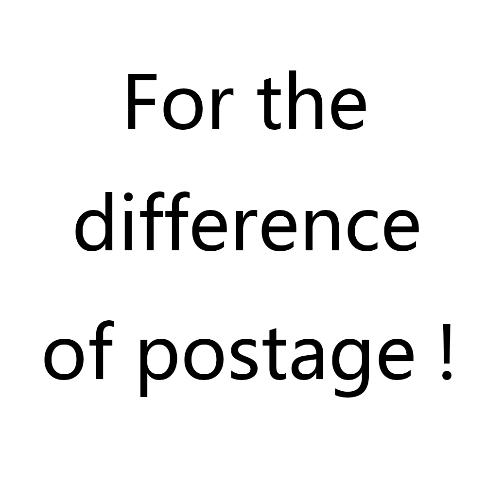 For the difference of Postage