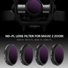 Drone Filter ND8/ND16/ND32 ND64 PL Neutrale Dichtheid Met Polarisatiefilters Set Voor DJI Mavic 2 Zoom Optische glas Lens Accessoire