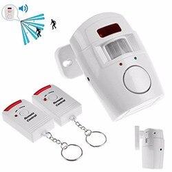 Home security alarm system wireless detector 2 remote controllers pir infrared motion sensor alarm wireless alarm.jpg 250x250