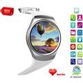 2017 Новое Прибытие Smart Watch KW18 Полный IPS Экран Bluetooth Носимых Устройств Монитор Сердечного ритма Фитнес-Трекер для IOS Android