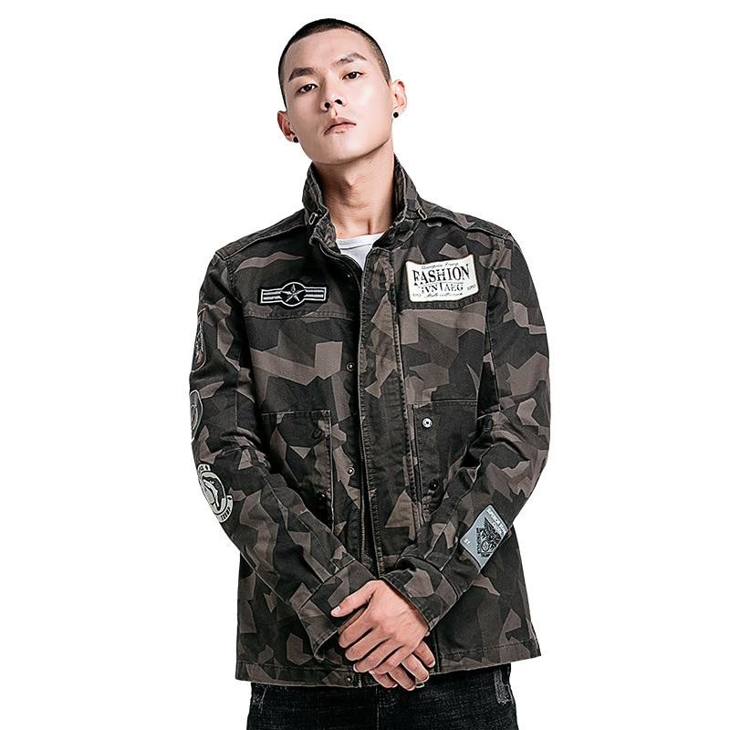 Gustomerd Veste Manteaux Multicam Marque Militaire Hiver Camouflage Mâle Gray green Vêtements Automne Casual Hommes Mince De Blousons bf7g6yIvY