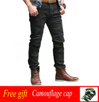 Новые мотоциклетные штаны Для мужчин Moto Jeans защитный Шестерни для верховой езды Touring мотоцикл брюки Мотокросс Pantalon Moto Pants