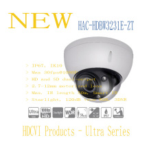 DAHUA 2016 NEW Product CCTV Security Camera 2MP Full HD Starlight HDCVI IR Dome Camera IP67 IK10 without Logo HAC-HDBW3231E-ZT