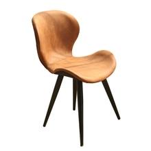 Nordic Modern Minimalist Western Restaurant Cafe Dining Chair(China)
