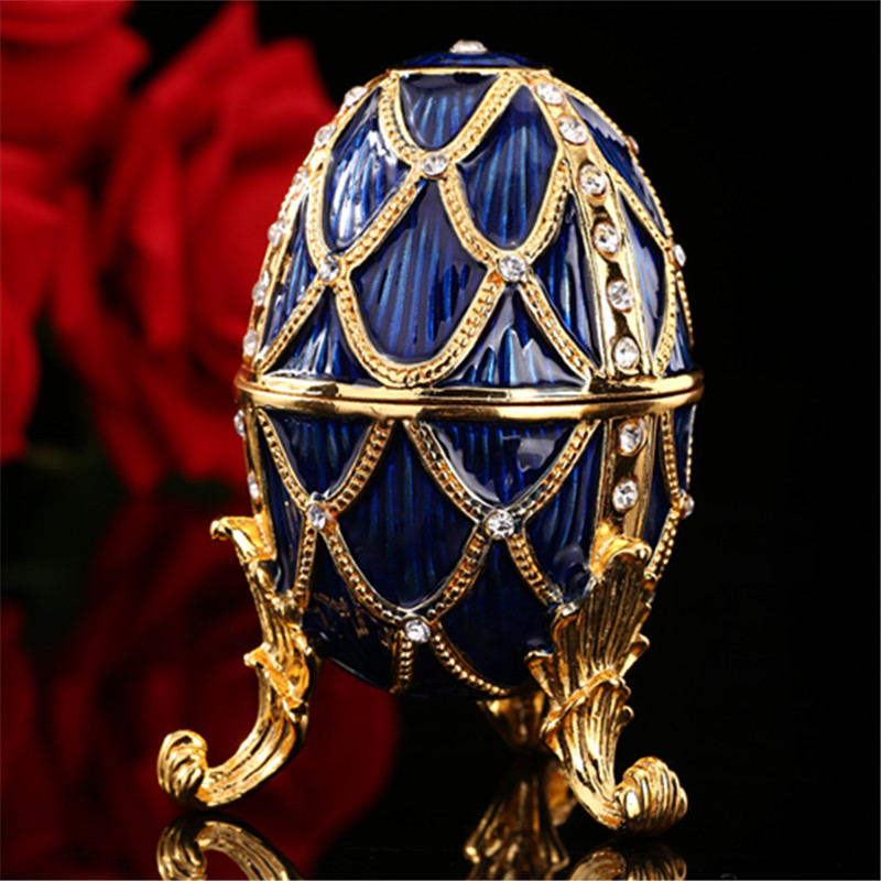 QIFU Faberge egg art collectible for samling