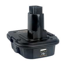 DM18D Battery Adapter USB Charger Tool Replacement Safe Black Professional 18V Stable Durable For  DC9096 Converter