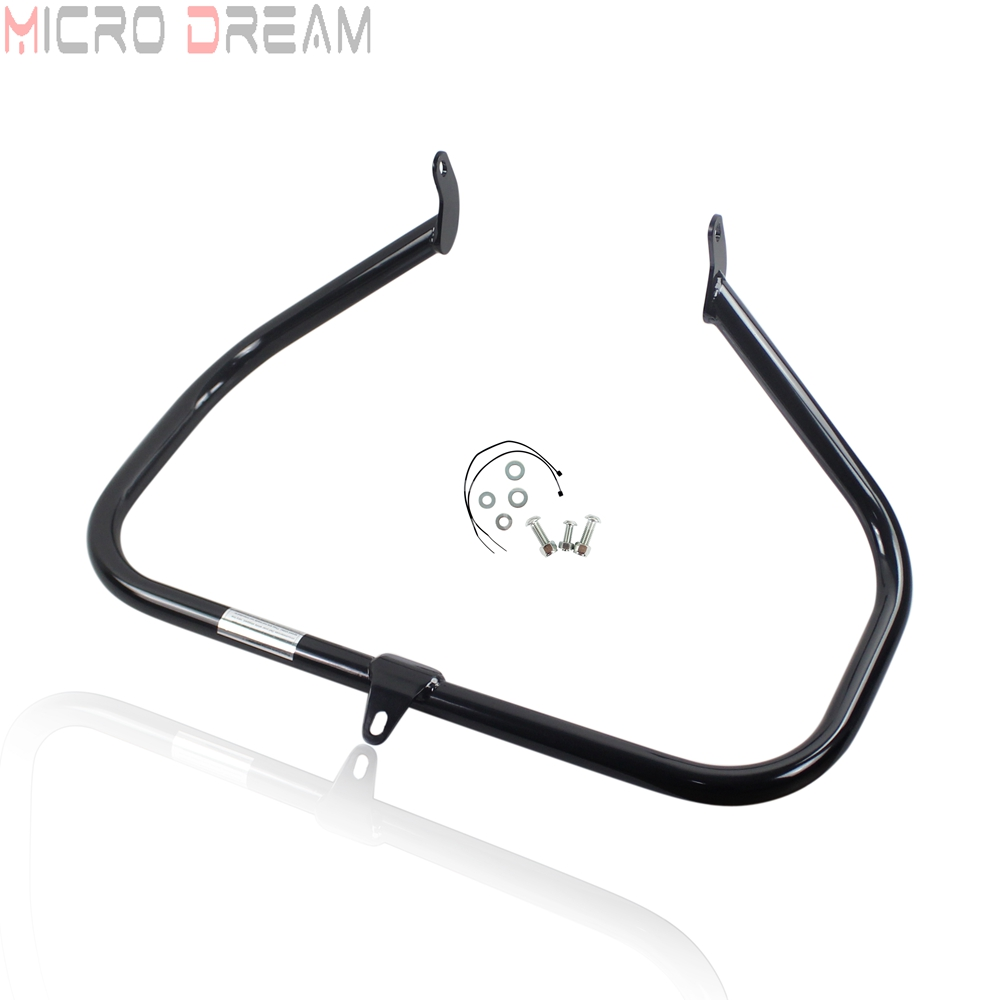 1 1 4 Highway Engine Guard Crash Bar Protector for Harley Softail FX FXST FXCW FXSB