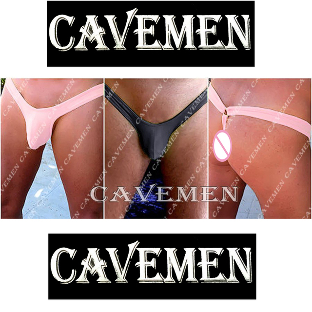 The hip with metal rings * 2444 *sexy men lingerie T-Back Thong G-String T pants Brief Underwear free shipping