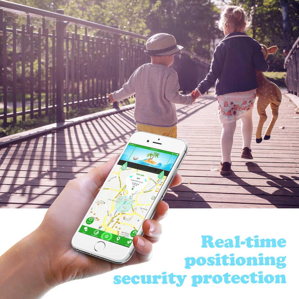 LEMFO LEC2 akıllı saat çocuklar GPS 600Mah pil bebek Smartwatch IP67 su geçirmez SOS çocuklar için destek Video
