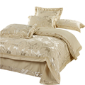 Seda De luxo conjunto de cama 4 pcs roupas de cama roupa de cama queen size rei Colcha conjuntos capa de edredão lençóis de algodão colcha