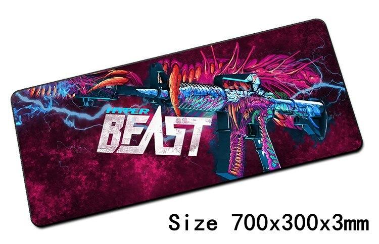Cs go souris pad 700x300x3mm pad pour la souris notbook ordinateur tapis de souris verrouillé bord de jeu padmouse gamer pour ordinateur portable tapis de souris