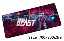 cs go mouse pad 700x300x3mm pad to mouse notbook pc mousepad locked edge gaming padmouse gamer to laptop computer mouse mat