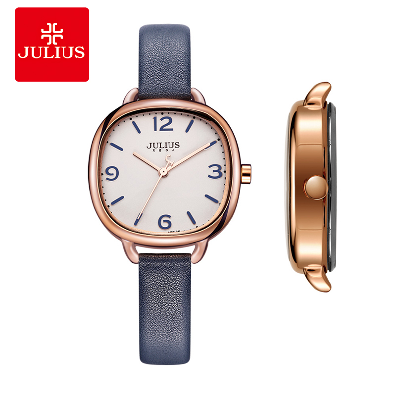 JULIUS Women Watches Top Brand Fashion Oval Retro Simple Student Girl Quartz Watch Ladies Simple Waterproof Wristwatch JA-928Y ja 460 julius women watch high quality quartz watch ladies clock oval women dress watches
