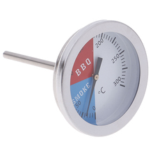 0-300 Celsius Stainless Steel Barbecue BBQ Smoker Grill Thermometer Temperature Gauge