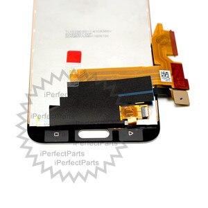 "Image 2 - 100% מבחן טוב 5.2 ""2560x1440 עבור HTC אחד M10 LCD מגע מסך עבור HTC M10 10 תצוגה digitizer עצרת החלפת חלק"