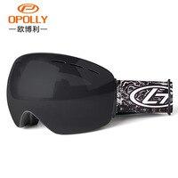2018 New Snowboard Ski Goggles Anti fog Double Layers PC Lens Ski Glasses Anti UV Windproof gafas snow Skiing Snowboard Goggles
