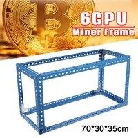 Leory DIY Steel Stackable Miner Frame Case Cooling Graphics Holder Case 70 30 35cm Mining Case