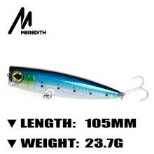 Meredith Fishing 1pcs 23.7g 10.5cm Retail Hard Fish Fishing Lures Top Quality professional baits VMC Hooks Functional Lure Bass