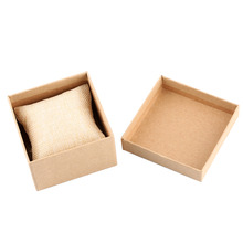 цены Paper Boxes Storage Display Organizer Case with Pillow  Foam Pad Watch Box High Quality Luxury For Watch Jewelry