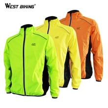 Тур де Франс куртки Для мужчин для верховой езды Спорт на открытом воздухе Светоотражающие цикл Костюмы с длинным рукавом велосипед Ветровка велосипедная куртка