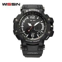 Lüks Marka G Stil Şok İzle Askeri Erkekler Spor İzle Dijital 50 M Su Geçirmez Saatler Elektronik Lastik Bant Saat Erkek