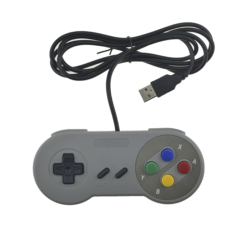 Retro USB Controller Retro Super for Nintendo SNES USB Controle for PC for MAC Controllers