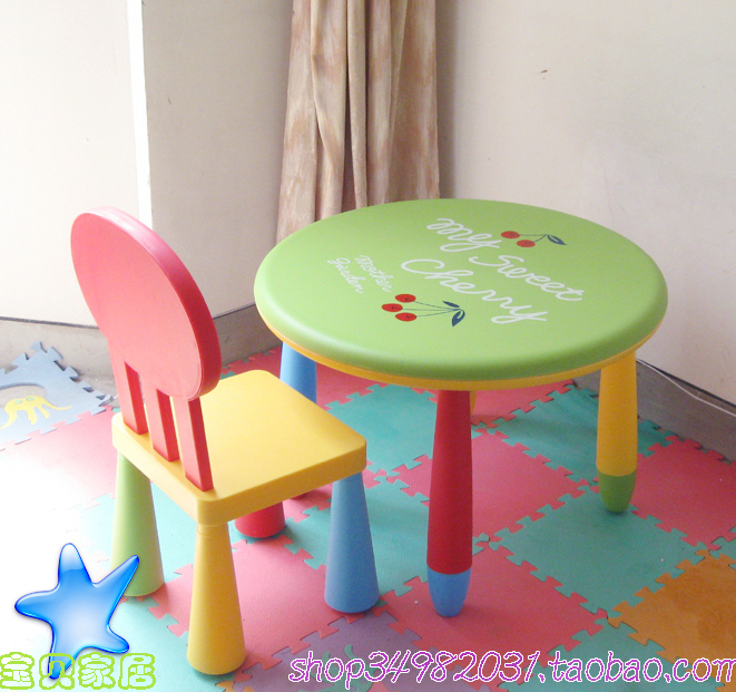 Child study tables and chairs child furniture baby table nursery furniture 1 Roundtable multicolour chair-in Children Furniture Sets from Furniture on ... & Child study tables and chairs child furniture baby table nursery furniture 1 Roundtable multicolour chair-in Children Furniture Sets from Furniture on ...