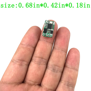 Image 3 - wireless remote control switch Mini small 433mhz rf transmitter receiver 3.7v 5v 6v 9v 12 Battery power circuit micro Controller