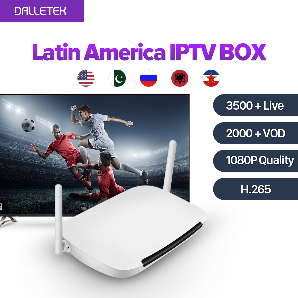 Subtv Latin American IPTV Subscription 1 Year Smart Android TV Box Europe Arabic IPTV Box Sweden UK Channels Abonnement