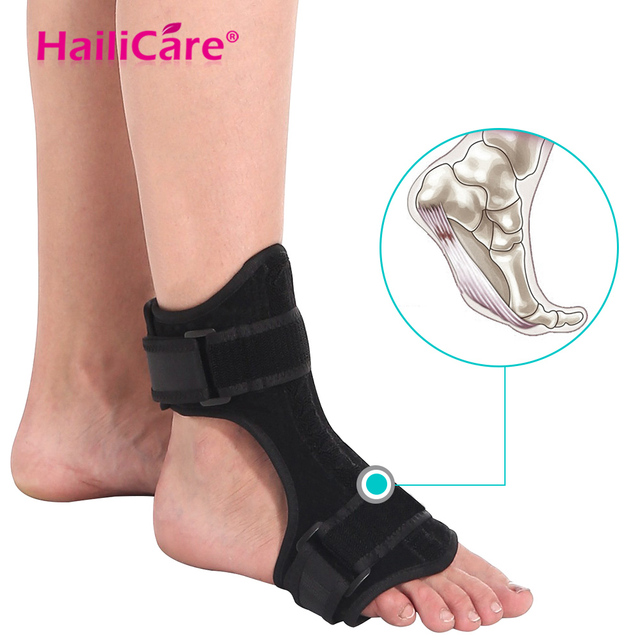 Plantar Fasciitis Dorsal Night Day Splint Foot Orthosis Stabilizer Adjustable Foot Orthotic Brace Support Pain Relief Bone Care