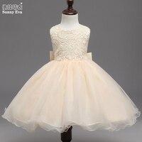 Sunny Eva Wedding Dress For Children Ballroom Dresses For Girls Lace Princess Flower Girl Dresses For
