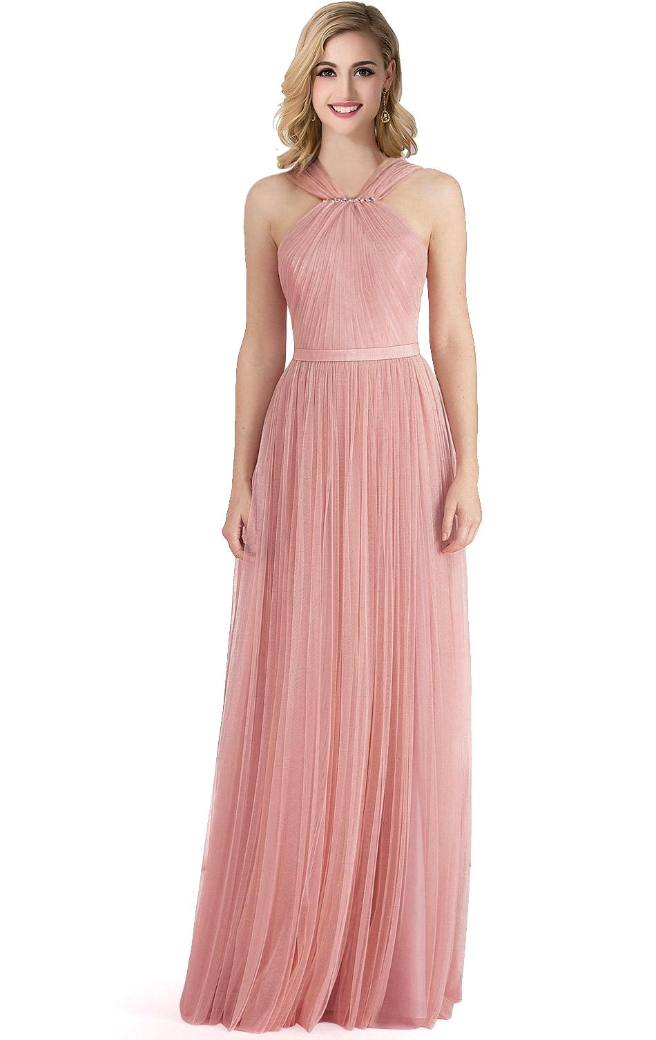 Online get cheap cheap bridesmaid dresses under 50 with sleeves cheap bridesmaid dresses under 50 pink vestido de festa long chiffon sash bridesmaid dresseschina ombrellifo Choice Image