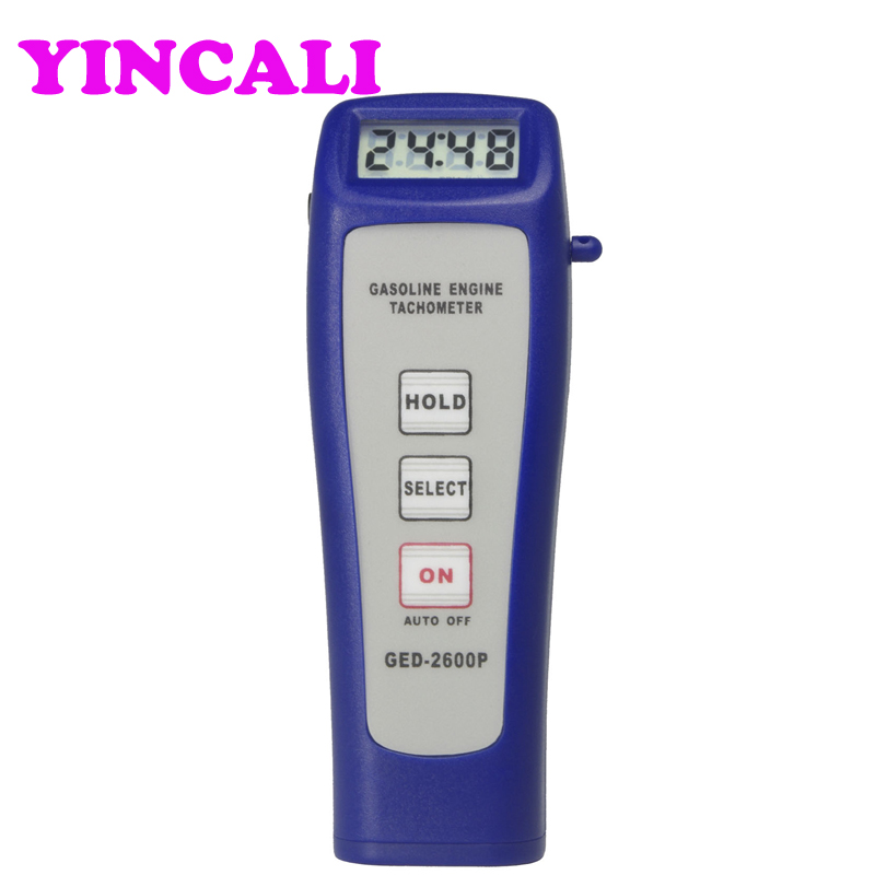 High Accuracy Handheld Engine Tachometer GED-2600P Electromagnetic Non-contacting Detection Automobile Rotate Speed TesterHigh Accuracy Handheld Engine Tachometer GED-2600P Electromagnetic Non-contacting Detection Automobile Rotate Speed Tester