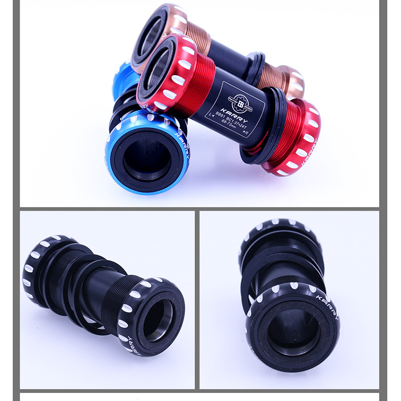 Ordinary Bottom Bracket Road Bicycle Axis Ceramic Bottom Bracket Mountain Bike Bottom Bracket Bike Parts Ceramic Bearings gub c 68 ceramic bb 68 bottom bracket shell 68 73mm screw thread type bsa crankset bearings bicycle axis hight quality for bike