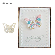 JC 2019 New Arrival Fine Butterfly Metal Cutting Dies for Scrapbooking DIY Embossing Folder Cards Handmade Album Stencil Crafts