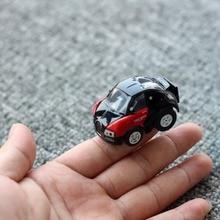 Удивительные 5 см мини Радио дистанционный пульт автомобиль игрушки для детей подарок rc трюк Гоночная машина для мальчиков беспроводной ребенка подарок
