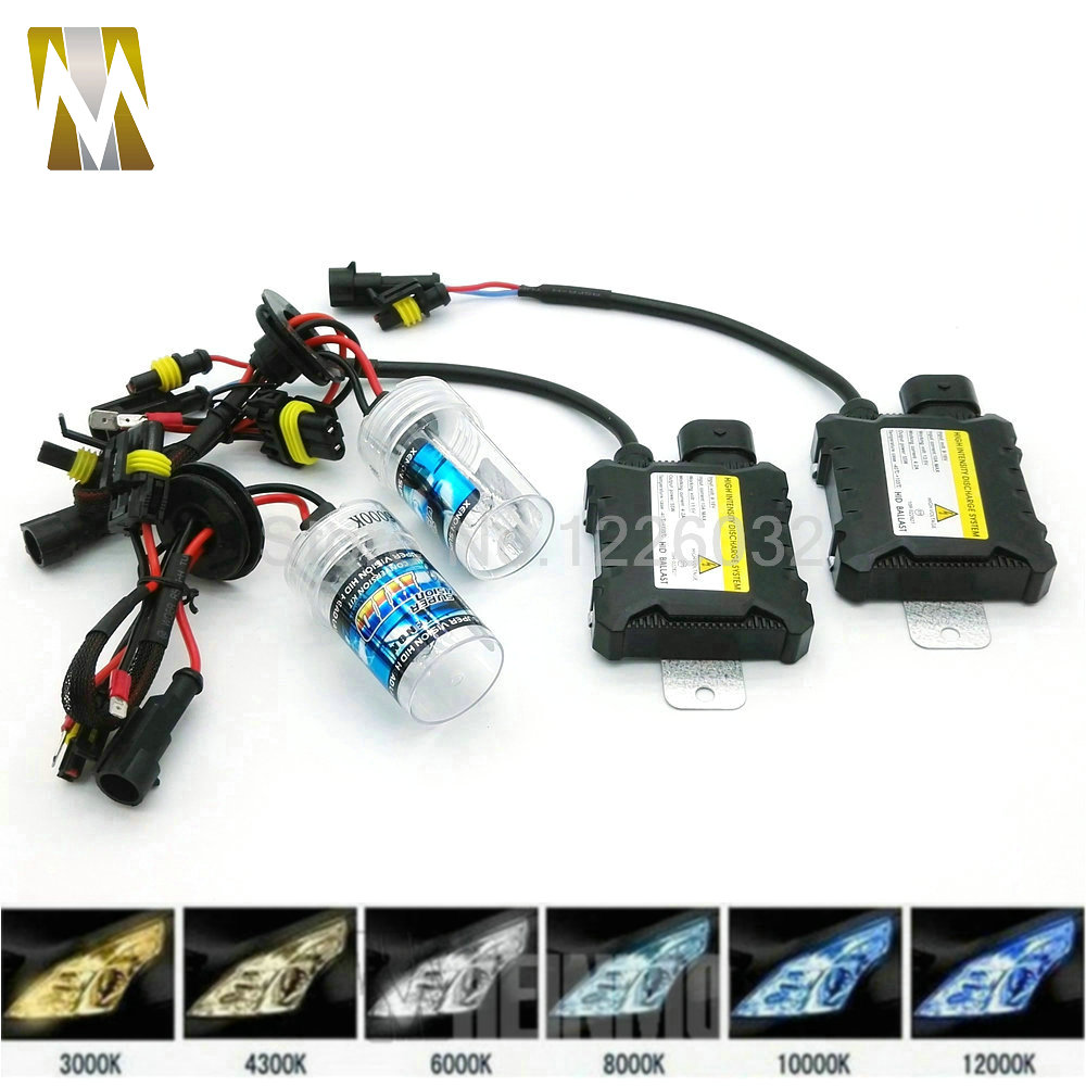 1 Pair 55W HID Car Headlight Xenon HID Conversion Kit Auto Replacement Xenon H3 H4-1 H7 H9 H11 H8 H1 9005 9006 880 881 HB3 HB4 1 pair 12v 55w car xenon hid bulbs h1 h3 h7 h8 h9 h11 9005 hb3 9006 hb4 880 881