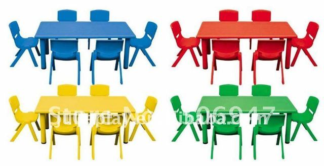 Kids Plastic Table, Nursery Tables/ Nursery School Furniture